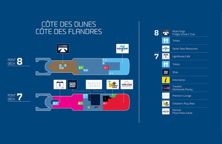 Côte Des Flandres Deck Plan