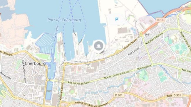 Cherbourg Ferry Port