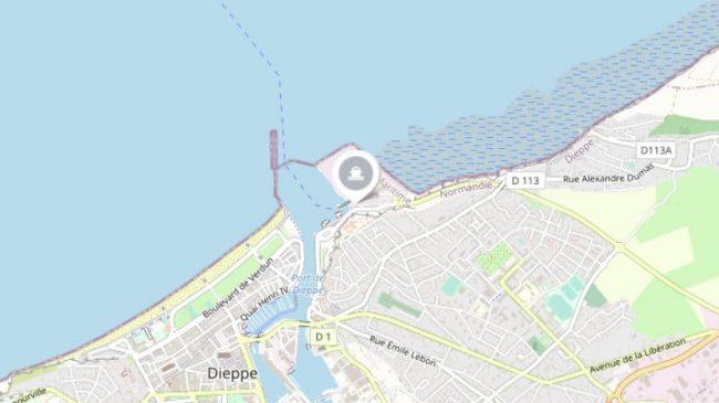 Dieppe Ferry Port