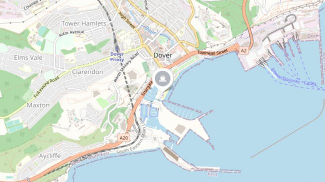 Where is Dover Ferry Port?