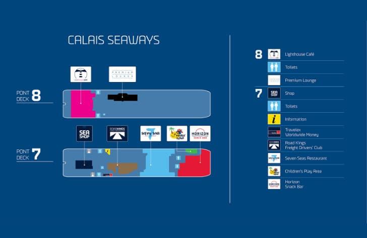 Calais Seaways Deck Plan