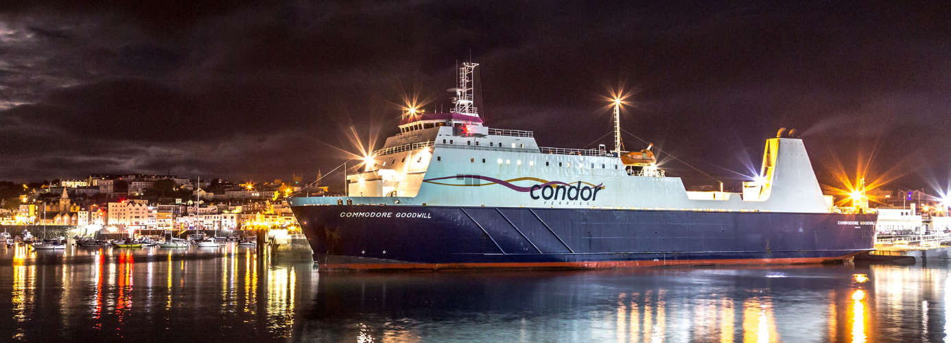 Condor Ferries Ship